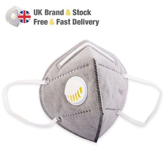 Kash Global® Valved KN95 Mask